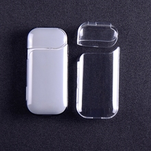 1PCs Transparent Portable Waterproof Dust Protector Anti Scratch Protective Hard Case for IQOS Electronic Cigarette Accessories