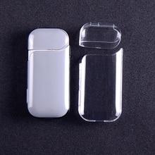 1PCs Transparent Tragbare Wasserdicht Staub Protector Anti Scratch Schutz Harte Fall für IQOS Elektronische Zigarette Zubehör