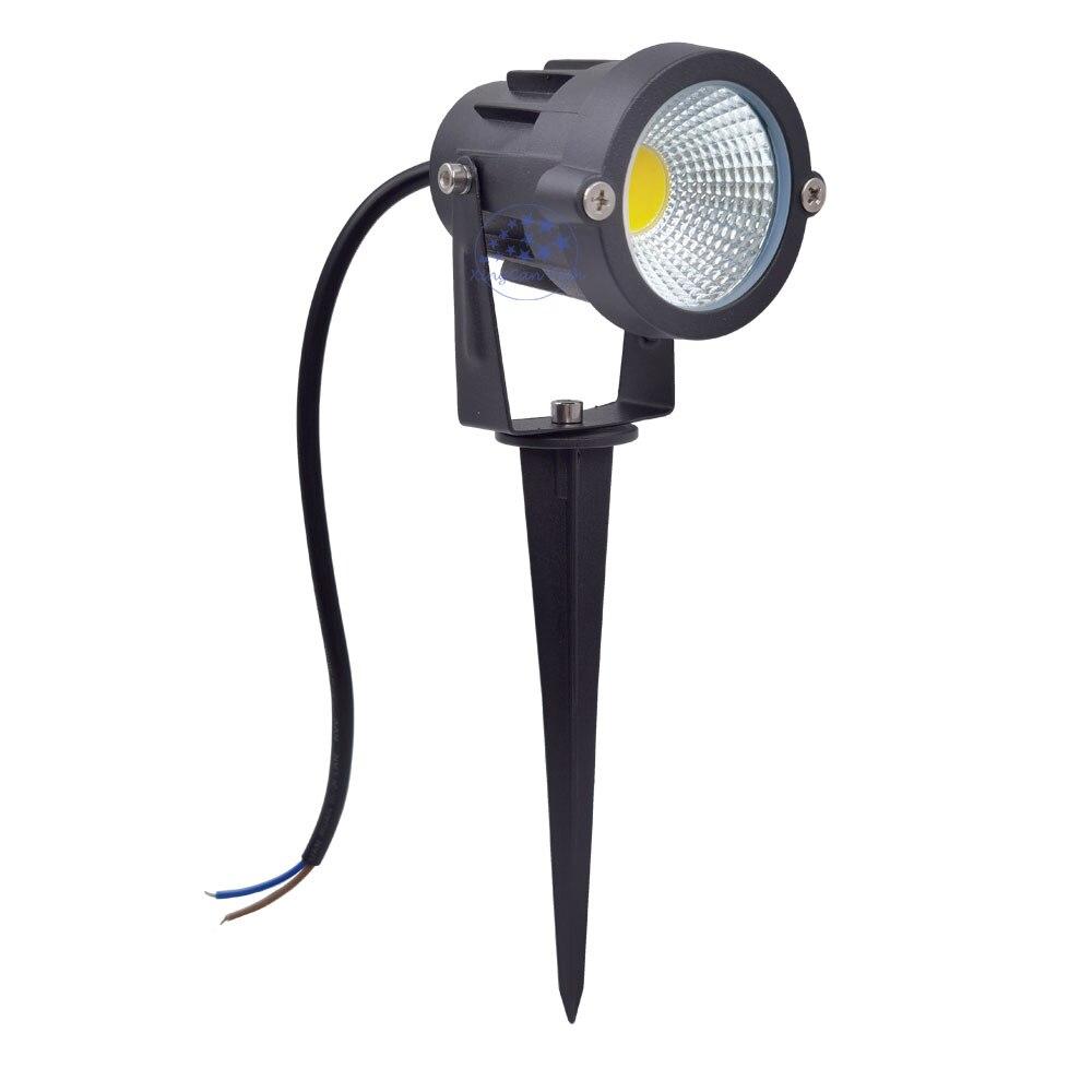 Outdoor Spot Light Led Outdoor 5W 10W 12W  Outdoor Spotlight 12V 110V 220V Christmas Spot Light For Garden Decorating