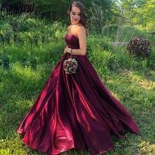 2020 Фиолетовый Вечерние платья Длинные Милая задняя часть корсета