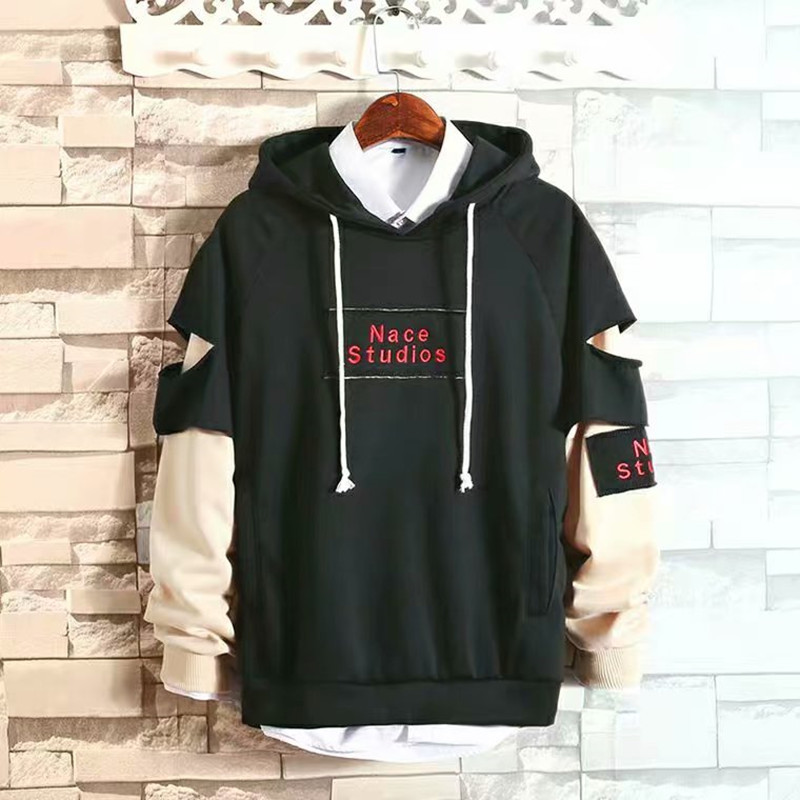 2020 Fashion Autumn Hoodies Set Men Hot Sale Sweatshirts Mens Hoodies Hip Hop Hoodies Casual Print Coat Sweatshirts