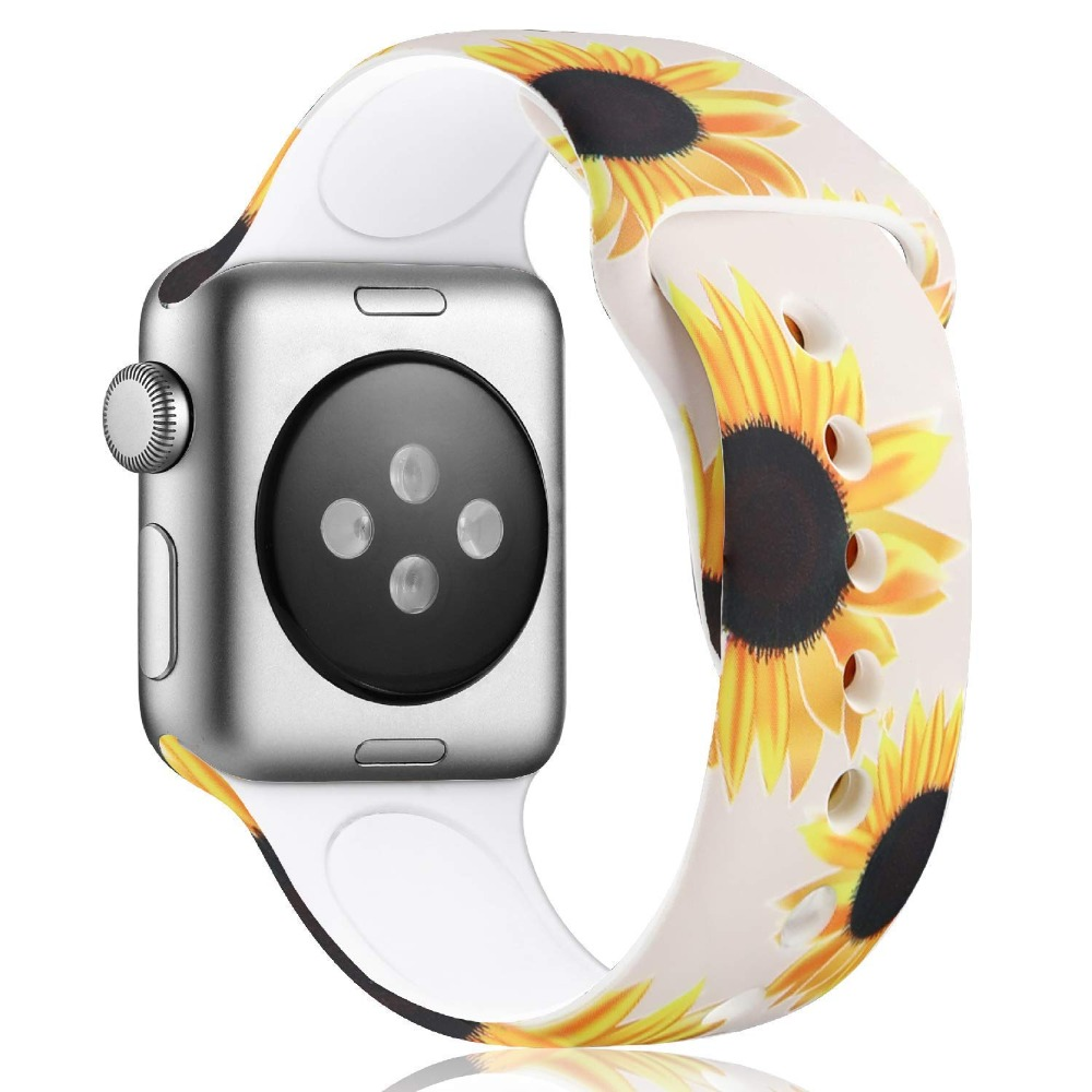 Floral Band for Apple Watch 345