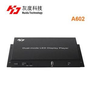 Image 2 - Huidu HD A601 HD A602 HD A603 wsparcie 3G 4G WiFi wydać w pełnym kolorze dual mode huidu A601 A602 A603 z S108 czujnik pole
