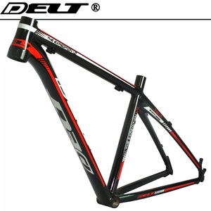 MTB Mountain Bicycle bike frame 26 * 17 inch AL6069 black red Accessories