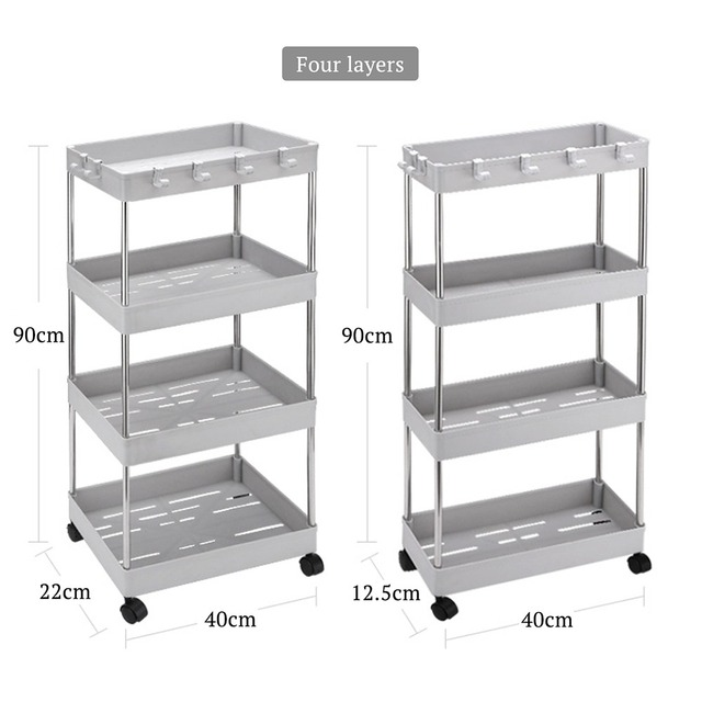 Movable storage rack. Cart 6