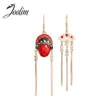 JOOLIM Creative Chinese Style Peking Opera Tassel Earring Drop Earring цена 2017