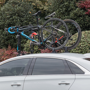 Image 5 - ROCKBROS Car Roof Top Suction Carrier Bicycle Rack For Mountain MTB Road Bike Hub Quick Install Vacuum Chuck Fixing Accessory