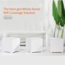Tenda MW6 Whole Home Mesh Wireless WiFi Extender System with11AC 2.4G/5.0GHz WiFi Wireless Router and Repeater APP Remote Manage