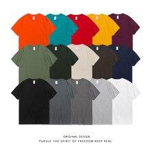 2020 yaz yeni % 100% pamuk beyaz katı T gömlek erkekler rahat o-boyun temel T-shirt erkek yüksek kaliteli klasik T-shirt Tops