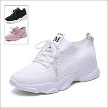 Running Shoes Women's Mesh Sport Outdoor Breathable Sneakers Athletic Designer Footwear Ladies Casual Shoe White Moda Mujer 2019