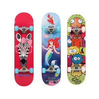 Manufacturers Direct Selling Adult Maple Four Wheel Skateboard Wholesale Children Learning for Skateboard Customizable Double Sn