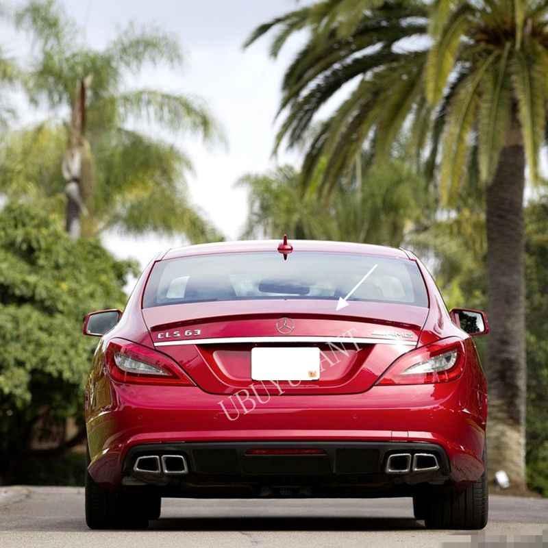 Untuk Mercedes W218 2011-2013 Rear Spoiler Bahan ABS Berkualitas Tinggi Primer Warna Mobil Sayap Ekor Dekorasi untuk CLS300 CLS350 CLS63