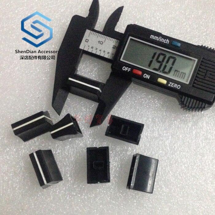3pcs 100% New For  Pioneer Mixing Table Mixing Table Push Rod KNOB CAP Potentiometer Push Rod Cap Pioneer Djm-400 500