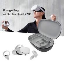 EVA sert taşıma çantası Oculus Quest 2 VR kulaklık denetleyici su geçirmez kılıf seyahat taşınabilir koruyucu taşıma çantası