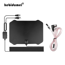 Digital TV Antenna 60 130 Miles Long Range Amplifier Signal Booster For DVB T2 HDTV Antenna 4K 1080p Freeview for Local Channels
