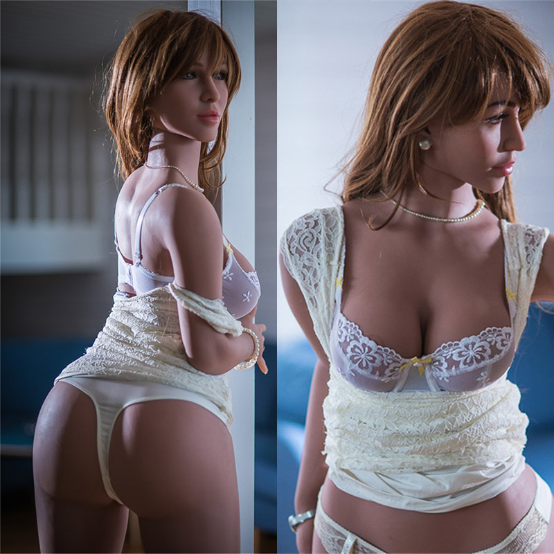 Young Silicone Sexy Adult Sex Toy Realistic Love Sex doll 165cm Pussy Tits Big Ass Huge Breast Masturbator Lifelike Vagina Torso