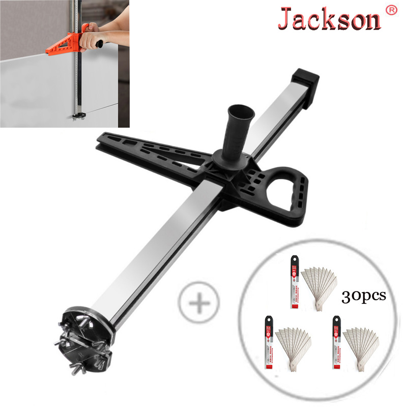Stainless Steel Manual Gypsum Board Cutting Artifact Roller Cutting Tool Gypsum Board Cutter Woodworking Cutting Tools