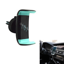 Car Phone Mount, Air Vent Phone Holder for Car with Adjustable Car Phone Holder Cradle Universal Fits for under 6 inches
