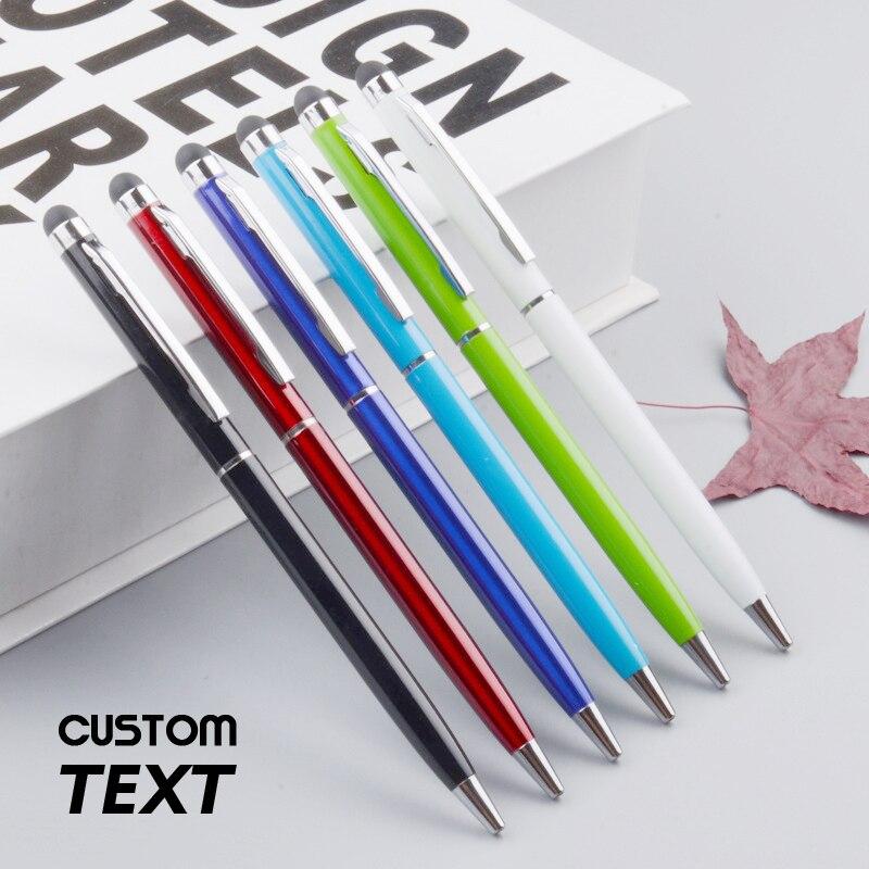 Cadeaux de mariage créatifs faits à la main anniversaire stylo à bille personnalisé écriture papeterie bureau et école stylo à bille encre noir