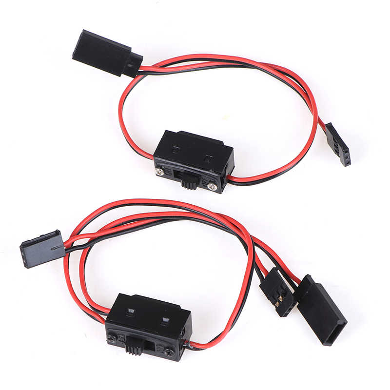 1PCS RC Switch JR Futaba Connector On- Off dengan Suku Male Plug