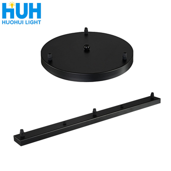 цена на Lamps And Lanterns Ceiling Strips Long Rectangular Circular Ceiling Plate Base Chandelier Chassis Ceiling Plate Accessories