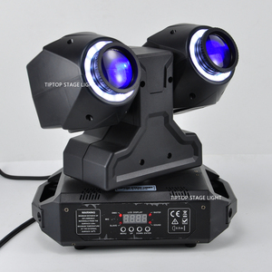 Image 3 - TIPTOP 2 X 30W New Club Beam Led Moving Head Light DMX512 Control Dual 30W LED Tyanshine with Halo RGB 3IN1 Hanging Clamp Hole