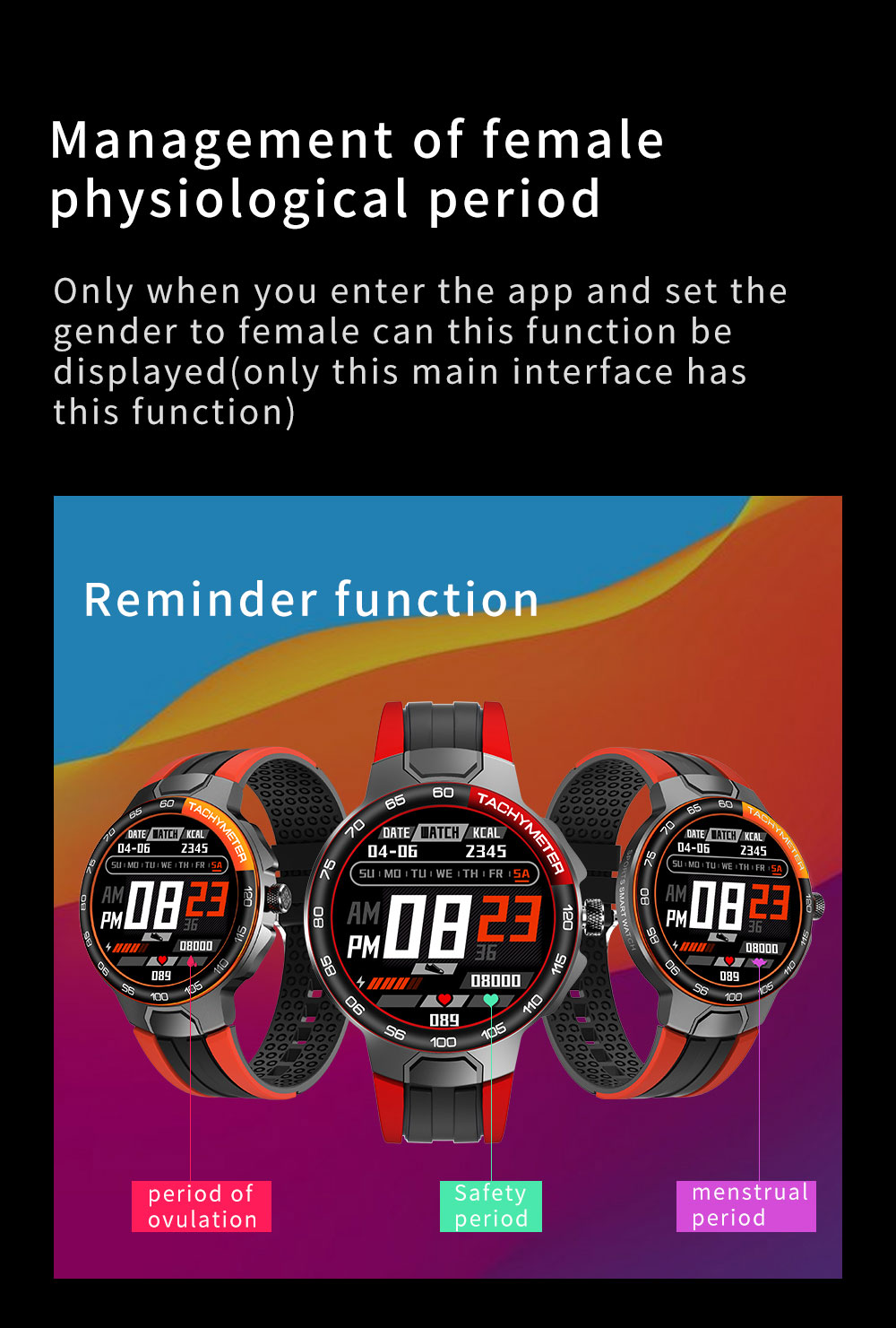 Hf3dd8e62d3b245e890dd6cb949de7f0e6 Smart Watch Men Women IP68 Waterproof Bluetooth 5.0 24 Exercise Modes Smartwatch E1-5 Heart Rate Monitoring for Android Iosr A