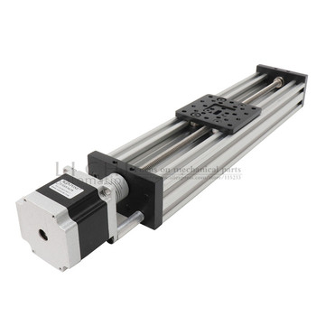 HPV7 NEMA23 Motor Paso A Paso Modelo Lineal Ranura En V 2mm 4mm 8mm 12mm Kit De Enrutador Eje Z Reprap 3D Impresora Piezas De Repuesto