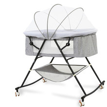 Bed Crib Removable Bedside Baby-Lift High And Stitching Low-Adjusting Large