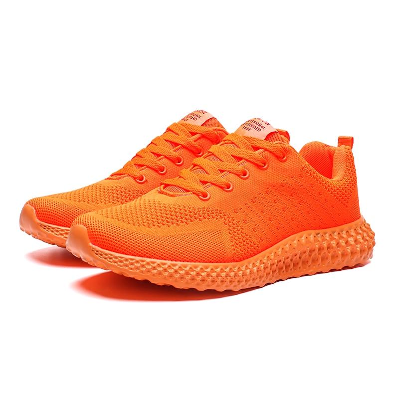 Air Mesh Lightweight Comfortable Orange
