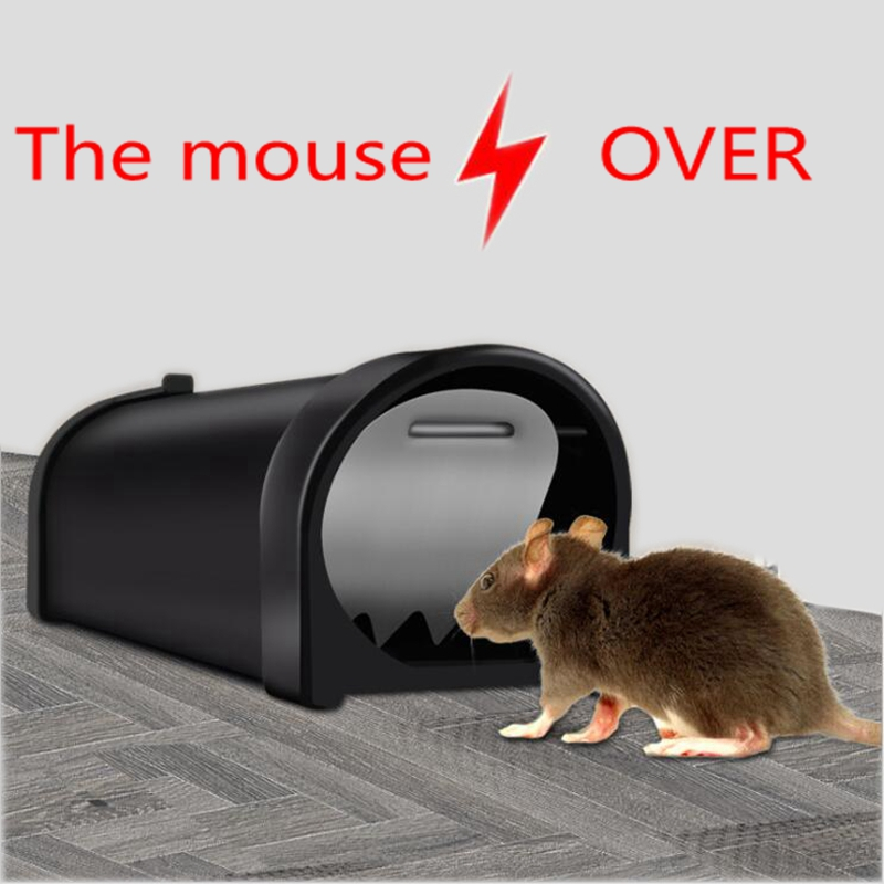Reusable Small Plastic Mousetrap Catching Mice Rat Killer Live Mouse Trap Bait Snap Spring Rodent Catcher Pest Control image