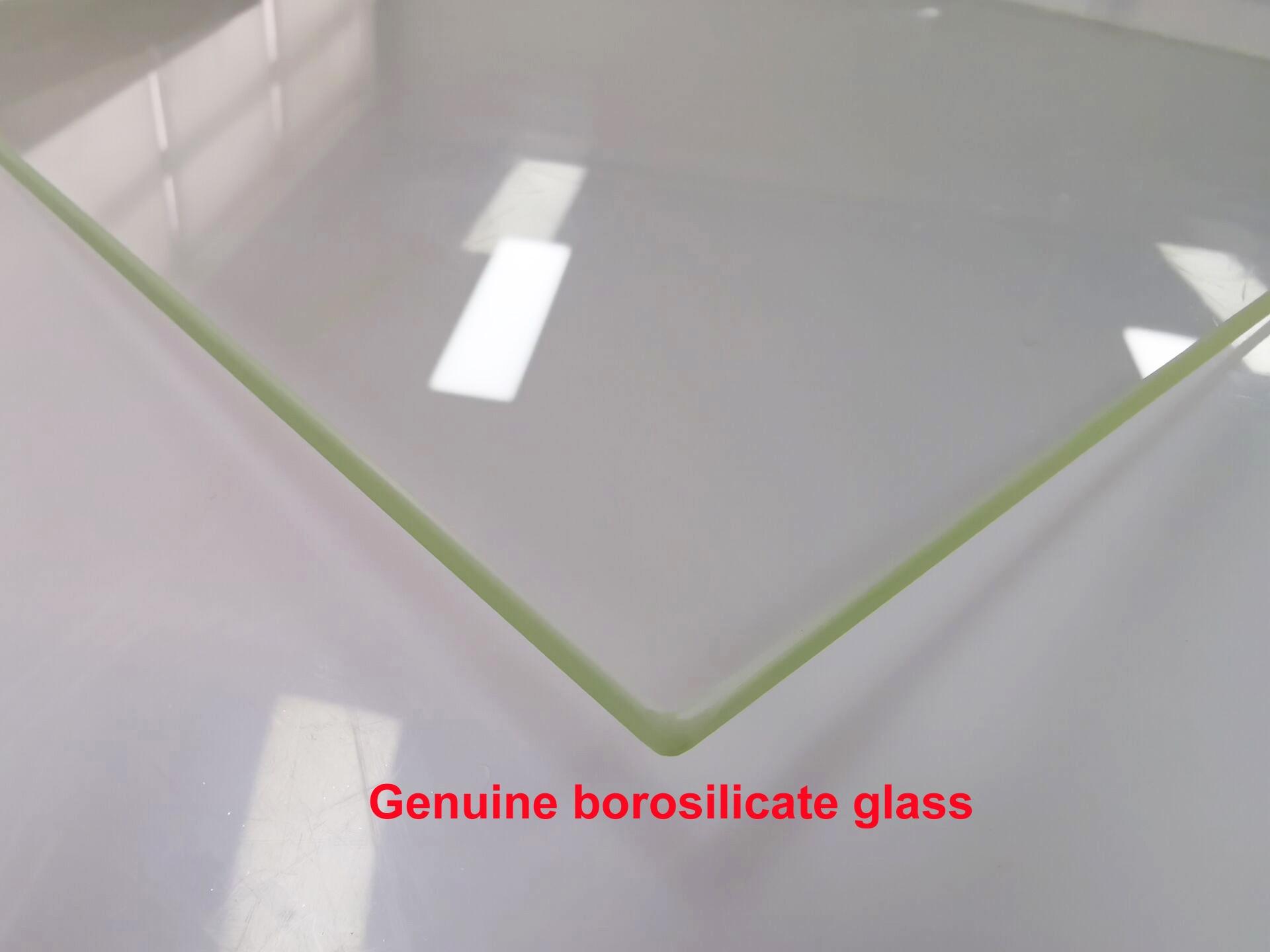 3D Printer Borosilicate Glass Build Plate for MK2 Makerbot Creality Flashforge Wanhao CTC ANET Prusa