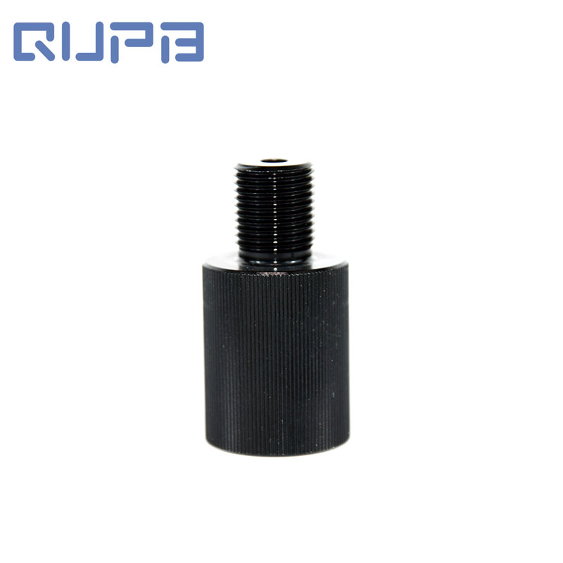 PCP Paintball Cylinder Thread Adapter 5/8-18UNF Male To M18X1.5 Female 380cc Tank Convertor