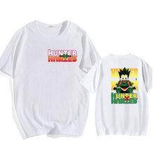 Женская футболка с принтом hunter x женская графическим модная