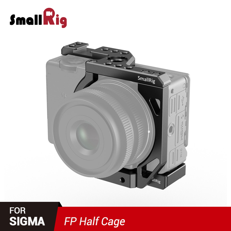 SmallRig FP Half Cage Top And Bottom Plate Kit For Sigma Fp Camera Feature Shoe Mount Mutiful Thread Holes For DIY Options 2671
