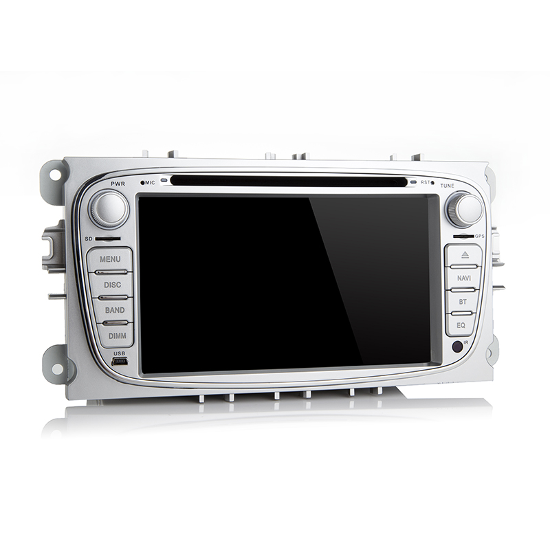 2 Din 7 Ips 4G + 64G Android 9.0 Car Dvd Multimedia Player per Ford Focus Mondeo s MAX C MAX Galaxy Radio 2din Gps Navi Stereo Pc - 2