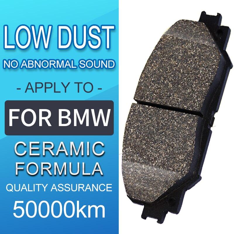 4 pièce/ensemble voiture avant et arrière céramique plaquettes de frein pour BMW série 4 F83 2014-2017 M4 chaussures de frein