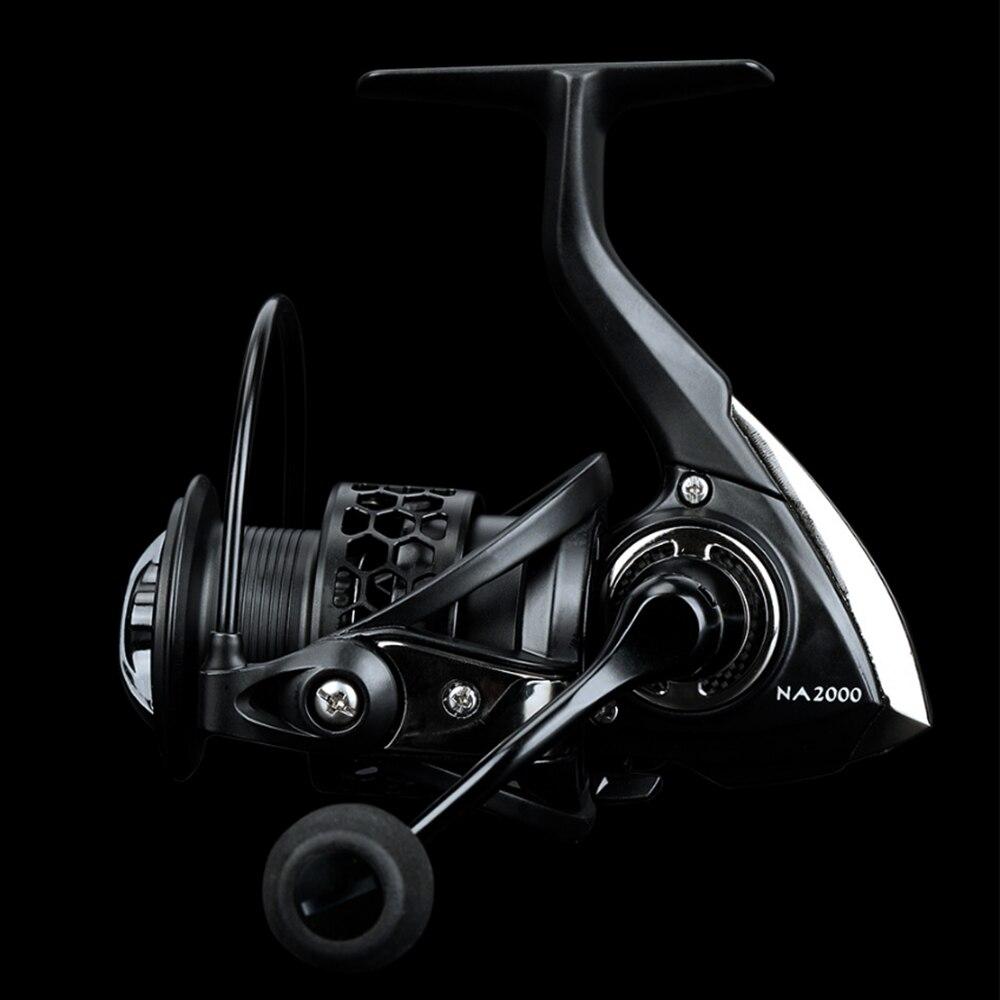 TSURINOYA lekki kołowrotek NA2000 NA3000 NA4000 NA5000 9BB 5.2 1 kołowrotki wędkarskie dla pstrąga Peche Bass Pike zander