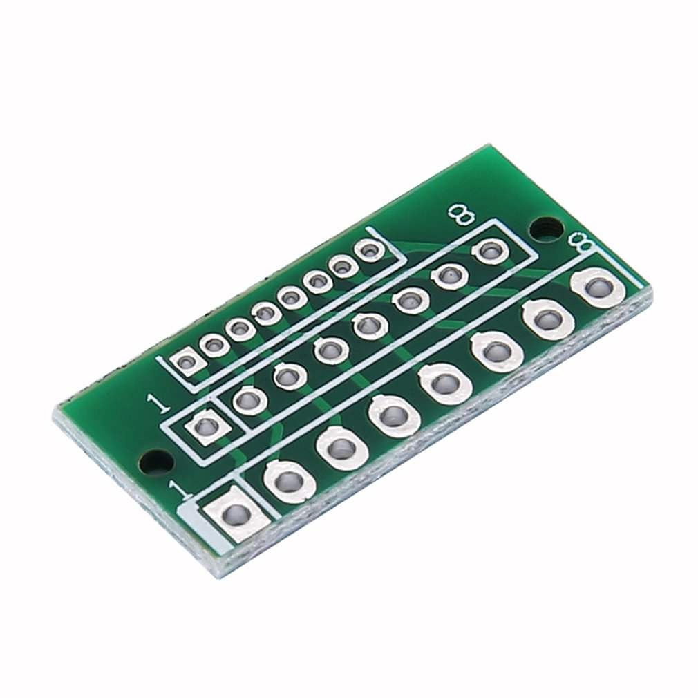 1PCS 1.27MM 2.0MM 2.54MM 12 Pin Adapter Board Modules For Wireless Modules 3 Rows And 36 Holes Green 11196