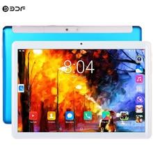 Nuovo 10.1 Pollici 2.5D Tablet Pc Quad Core 2G Chiamata di Telefono Del Android Google Play WiFi della macchina fotografica Bluetooth 1280x800 dual SIM CARD 1GB + 16GB Tablet