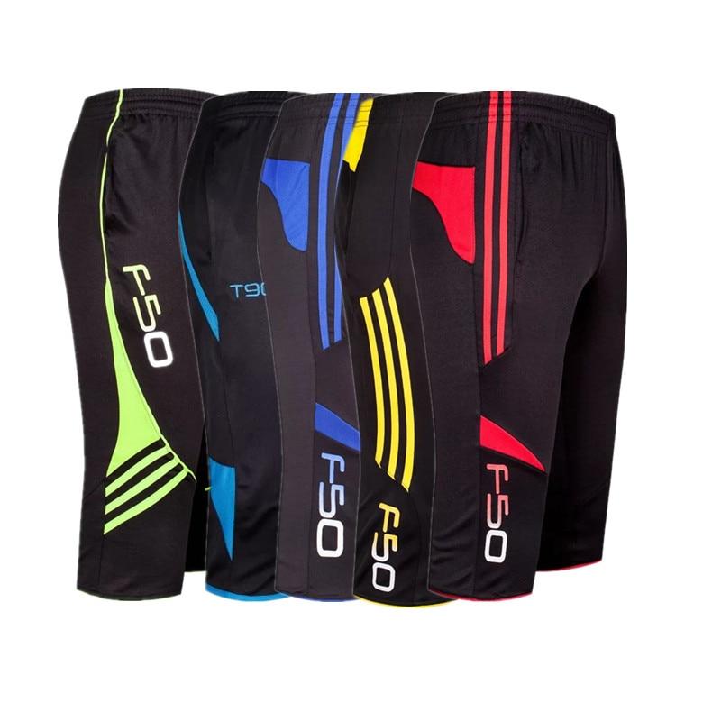Male 3/4 Shorts New Soccer Pants Slim Sports Jogging Pants Men Training Running Trousers Football Male Soccer Training Pants