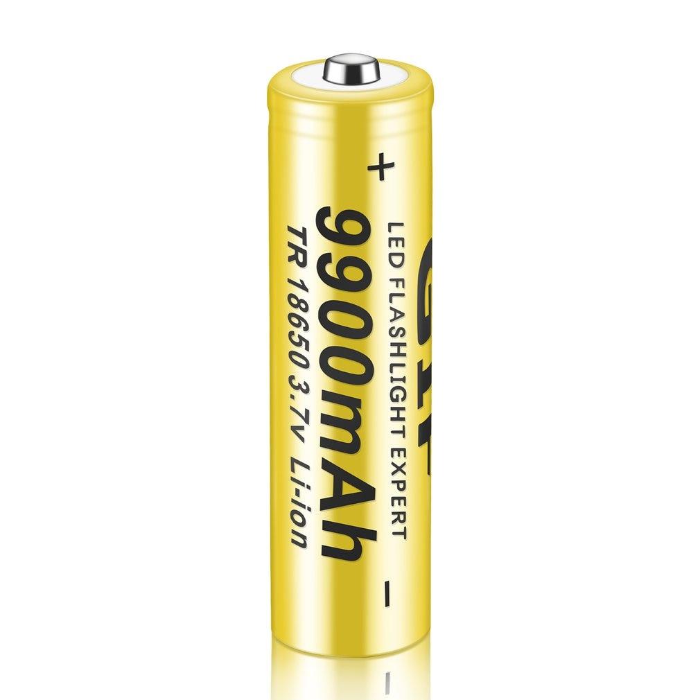 2Pcs/lot 3.7V 18650 Li-ion Rechargeable Battery For LED Flashlight Torchs Electronic Gadgets Li-ion 18650 Rechargeable Batteries