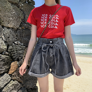 Womens Shorts Jeans High Waist  Summer and Autumn New Large Casual Women jeans woman