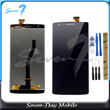 цена на Tested Good Quality Touch Screen Sensor For OnePlus One OnePlus 1 LCD One Plus A0001 LCD Display Assembly