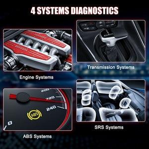 Image 2 - LAUNCH escáner automotriz CRP129i OBD2, cuatro sistemas, EPB, SAS, TPMS, reinicio de aceite, EOBD, OBD2, herramienta de diagnóstico de coche