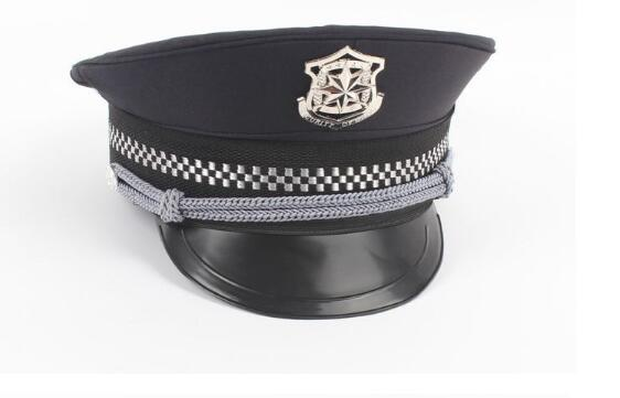 Police Security Hat Hats Cap Uniform Temptation  Costumes Military Hats Sailor Hat Army Cap