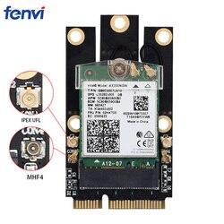M.2 NGFF כדי מיני PCI-E אלחוטי מתאם ממיר עם IPEX 4 אנטנה עבור M.2 Wifi Bluetooth כרטיס Intel AX200 BCM94352Z DW1560