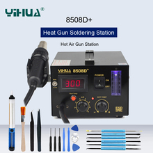 YIHUA Antistatische Digital Display Hot Air Desoldeerstation Heat Gun Soldeerstation Constante Temperatuur SMD Rework Station