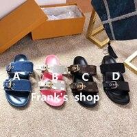 New Luxury Brand Ladies Slippers Men's Slippers High Quality Platform Shoes Woman Slides Flip Flops Pantufa Mules Couple Shoes