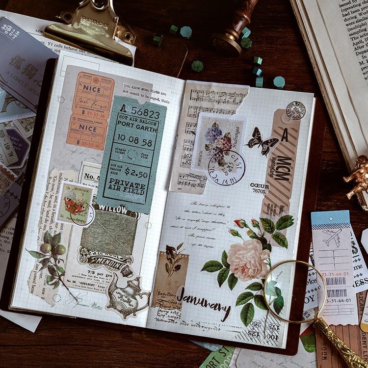 paket Sukkulenten Aufkleber Set Dekorative Schreibwaren Aufkleber DIY 6 teile